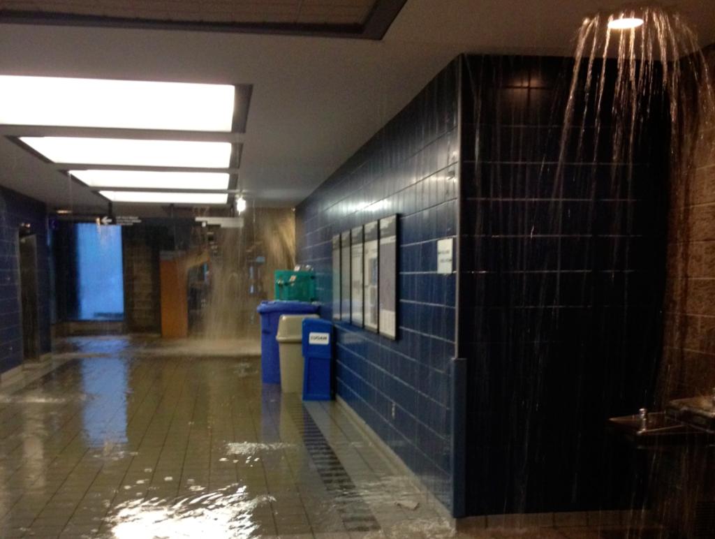Innondations à l'ESG